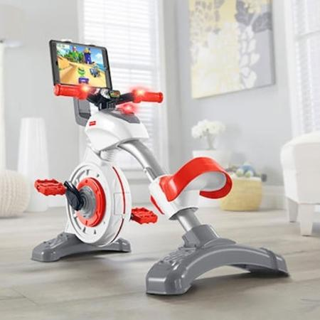 A Smart Cycle é uma espécie de bicicleta ergométrica que vem com um tablet - Fischer-Price/Divulgação