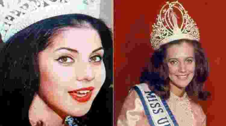 Ieda Maria Vargas (1963) e Martha Vasconcellos (1968) foram as únicas brasileiras a conquistar a coroa - Divulgação - Divulgação