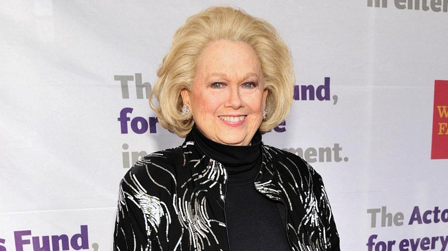 A atriz e cantora Barbara Cook  - John M. Heller/Getty Images