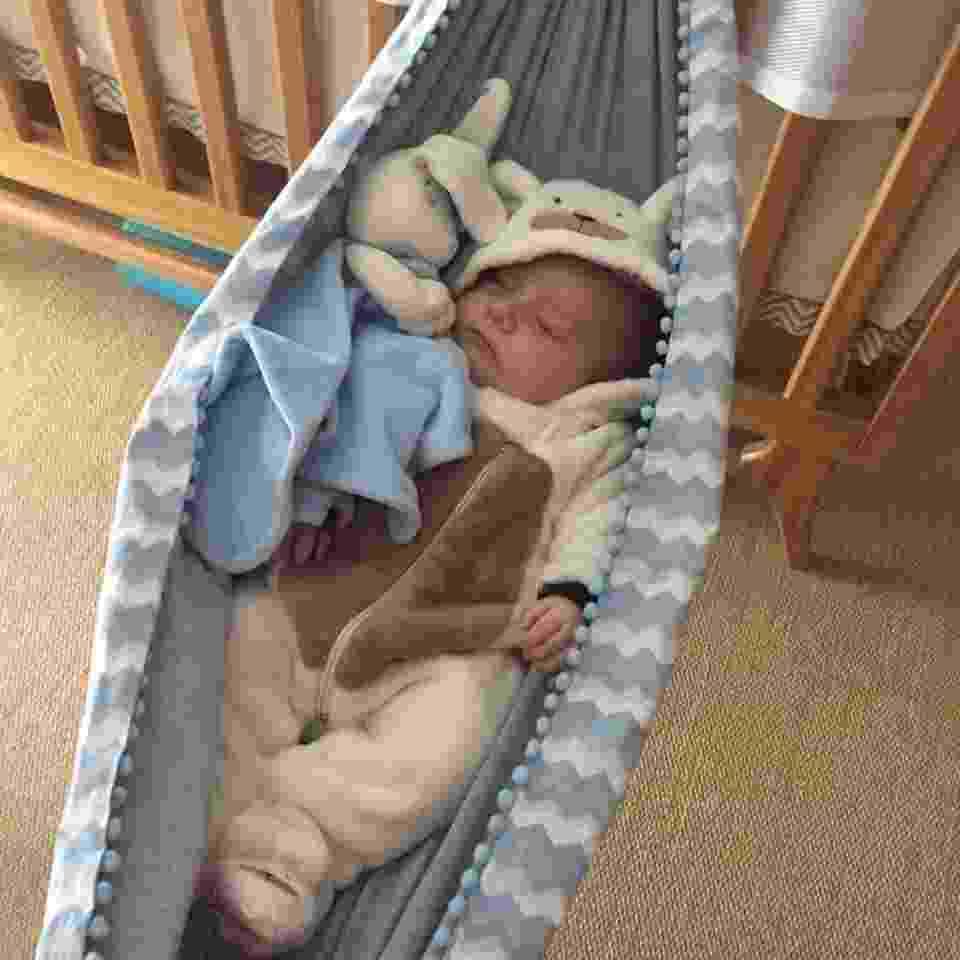Rede para berço, do Ateliê Ana Leal. Feita de algodão, custa R$ 124 e está disponível na Baby Bum (http://www.babybum.com.br/evento1) - Divulgação/Baby Bum