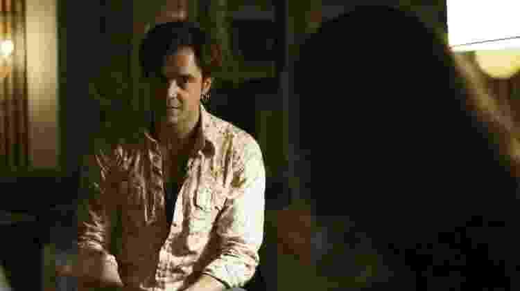 """Gael (Sergio Guizé) em """"O Outro Lado do Paraíso"""" - Reprodução/GShow - Reprodução/GShow"""