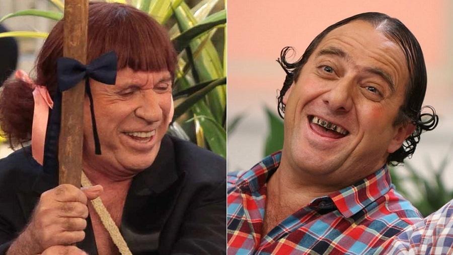 Moacyr Franco e Paulo Pioli, humoristas demitidos pelo SBT - Montagem/Divulgação/SBT