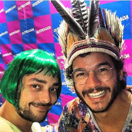 Túlio Gadêlha e Eduardo Sterblitch - Reprodução/Instagram/tulio.gadelha