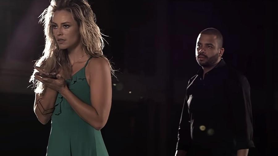 """Paolla Oliveira sua como bailarina em """"Mulher Feita"""", novo clipe de Projota - Reprodução/YouTube"""