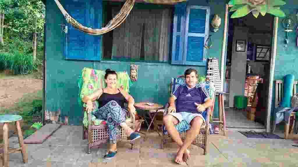 Conheça a vida do casal que deixou Miami para viver em uma ilha no Brasil - Arquivo pessoal