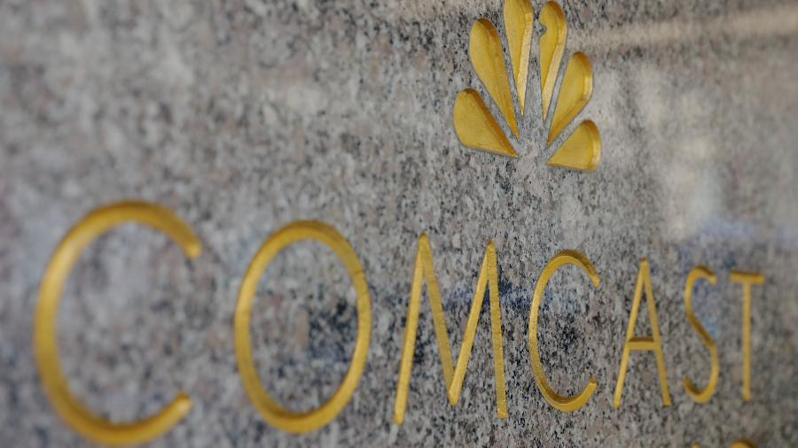 Fachada do prédio da Comcast, nos Estados Unidos - Lucas Jackson/Reuters