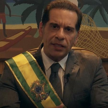 """Leandro Hassum em teaser de """"O Candidato Honesto 2"""" - Reprodução"""