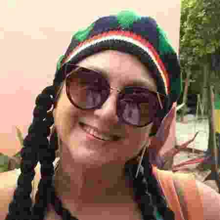 Rosana Barnez em um passeio pela Jamaica: bem feliz - Arquivo pessoal