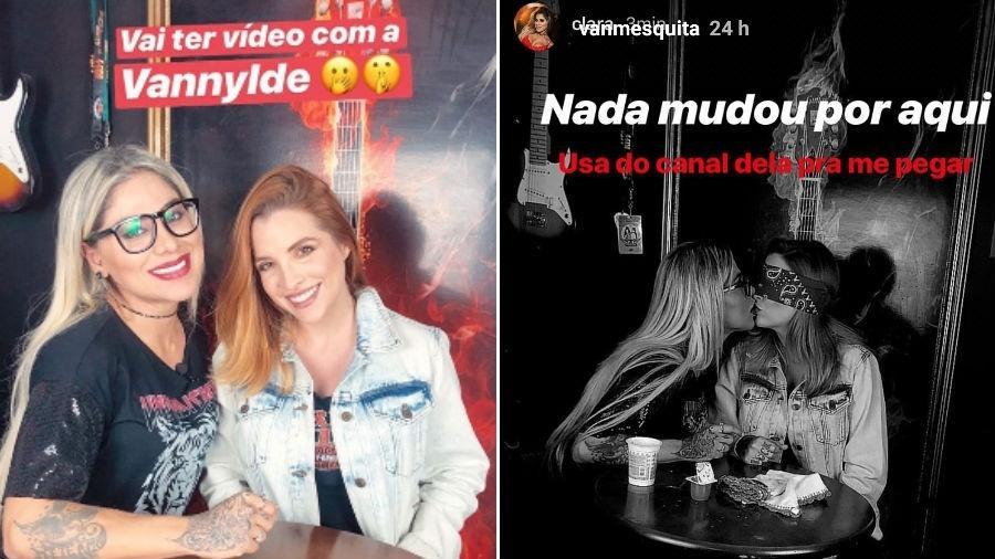 Vanessa Mesquita e Clara Aguilar - Reprodução/Instagram