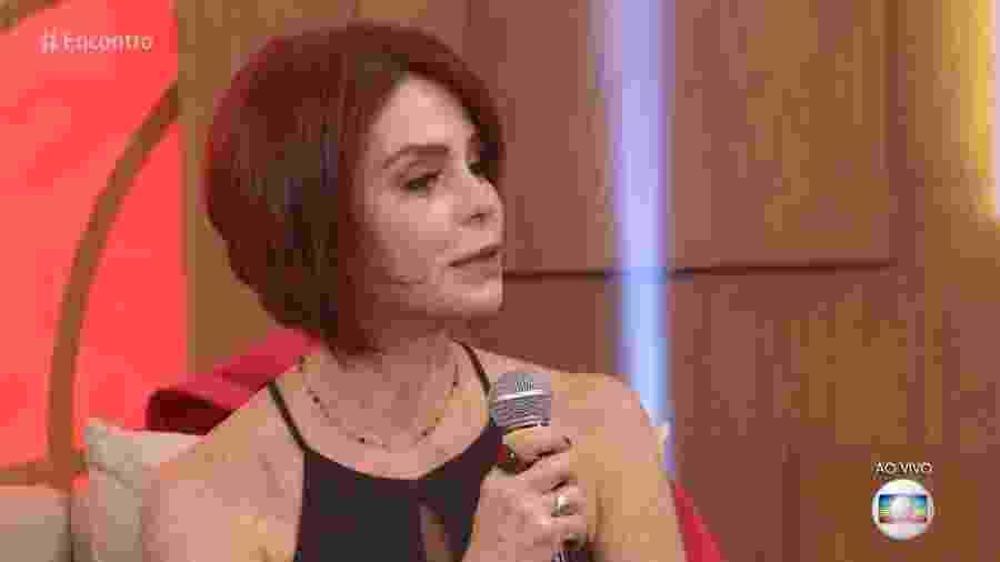"""Françoise Forton revela um drama pessoal no programa de Fátima Bernardes: """"Não conheço ninguém da família do meu pai""""  - Reprodução/TV Globo"""