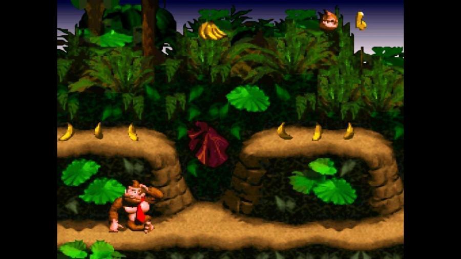 Donkey Kong Country, do Super Nintendo, era um dos games piratas oferecidos pelo app TNavigator2 no Xbox One - Reprodução