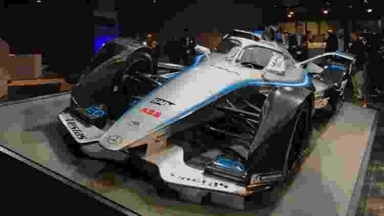 Mercedes-Benz EQ carro Fórmula E Salão de Frankfurt 2019 - Ricardo Ribeiro/Colaboração para o UOL - Ricardo Ribeiro/Colaboração para o UOL