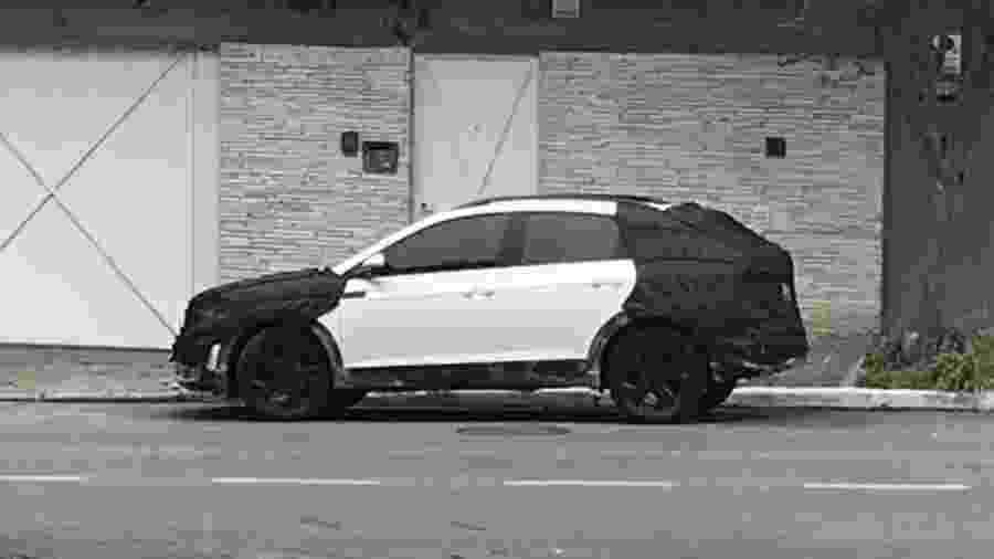 Volkswagen T-Sport flagrado em São Paulo - Pedro Pieski/Arquivo Pessoal