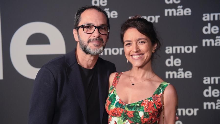 """A dupla por trás de """"Amor de Mãe"""", o diretor José luiz Villamarim e a autora Manuela Dias  - Estevam Avellar/Globo"""