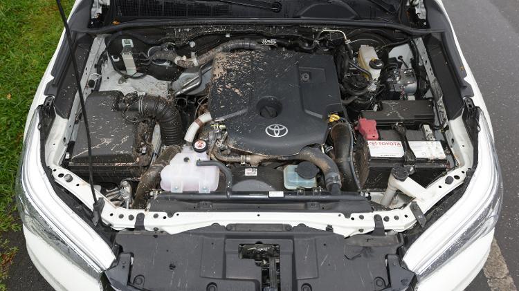 Motor da nova Hilux será o 2.8 turbodiesel, mas com mais potência - Murilo Góes/UOL