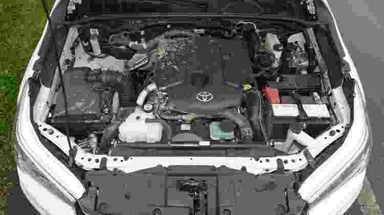 Motor da Toyota Hilux - Murilo Góes/UOL - Murilo Góes/UOL