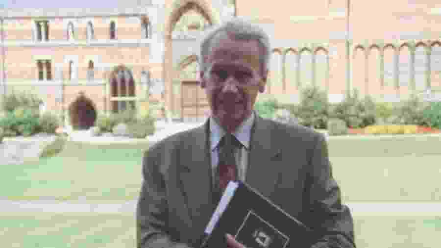 Christopher Tolkien, filho de J. R. R. Tolkien - Charles E. Noad/divulgação/Tolkien Society