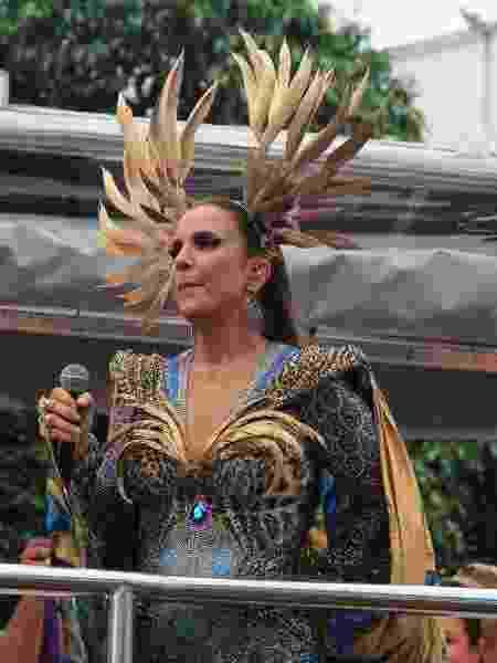 Ivete Sangalo sai no circuito Osmar (Campo Grande) e se despede do Carnaval de Salvador - JC Pereira / Agnews