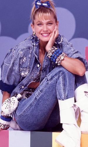 Xuxa, na época do 'Xou da Xuxa', no ar entre 1986 e 1982