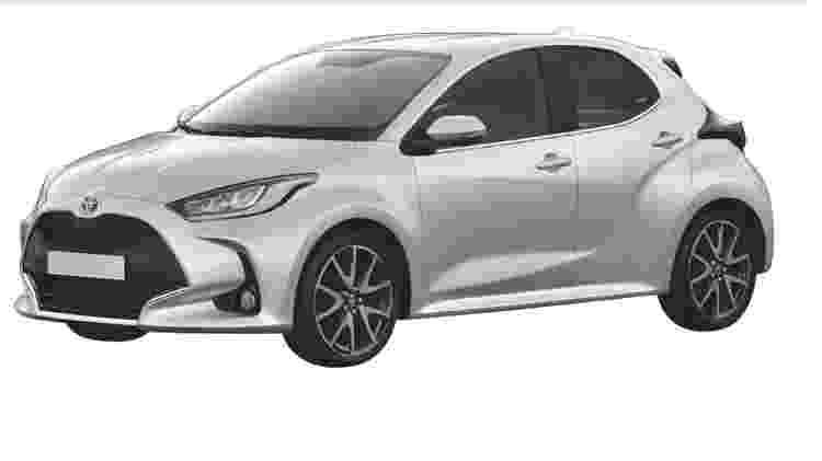 Novo Toyota Yaris europeu 2 - Reprodução - Reprodução