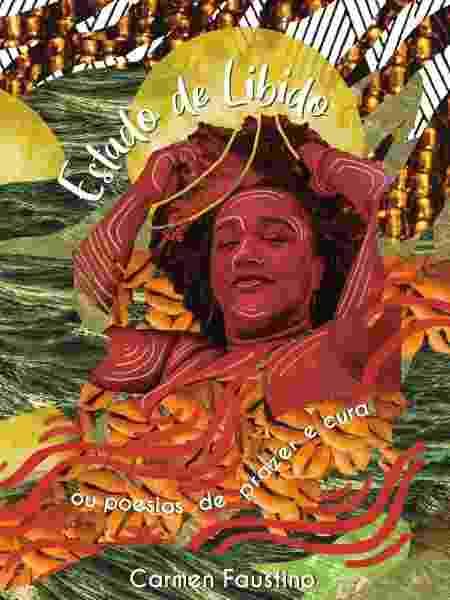 "Capa do livro ""Estado de Libido - ou poesias de prazer e cura"", de Carmen Faustino - Isabela Alves"