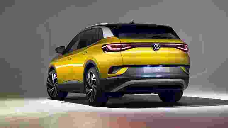 Volkswagen I.D.4 traseira - Divulgação - Divulgação