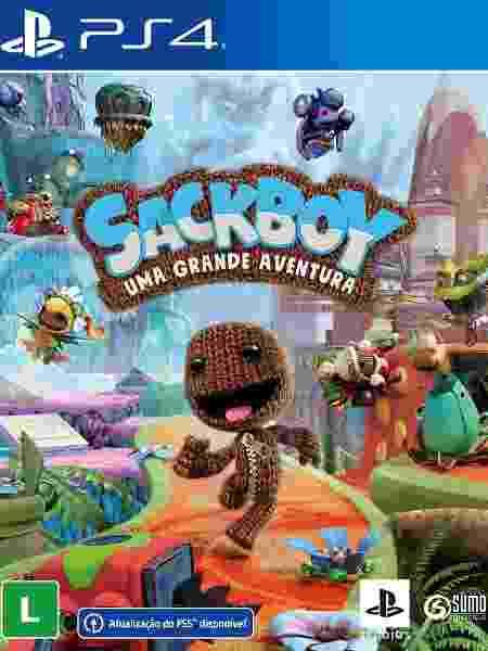 Sackboy Uma Grande Aventura - Divulgação/Sony - Divulgação/Sony