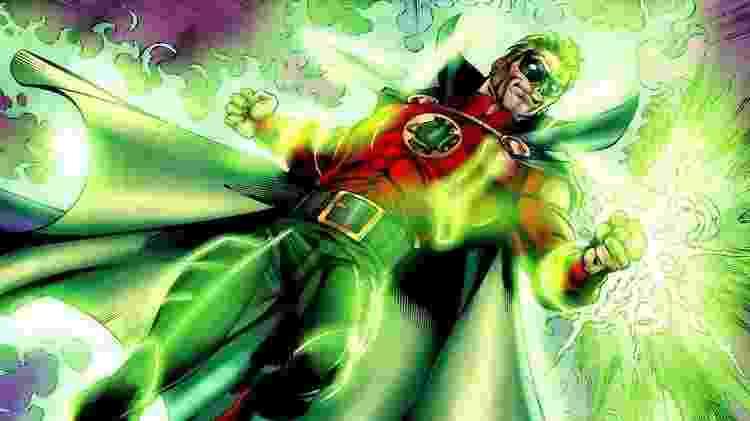 Alan Scott, outra versão do Lanterna Verde nas HQs - Reprodução - Reprodução