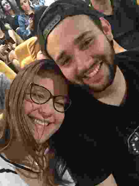 Marcela e Bruno estão juntos há três anos - Acervo pessoal - Acervo pessoal