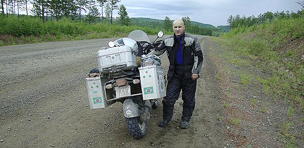 João Batista de Lima, viajante de moto - Arquivo pessoal - Arquivo pessoal