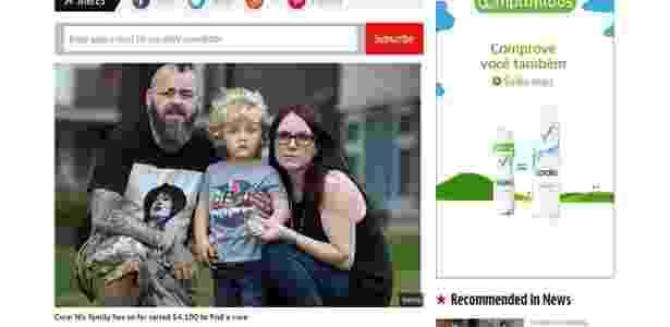 Os pais de Geezer precisam monitorar tudo o que o filho come - Reprodução/The Mirror
