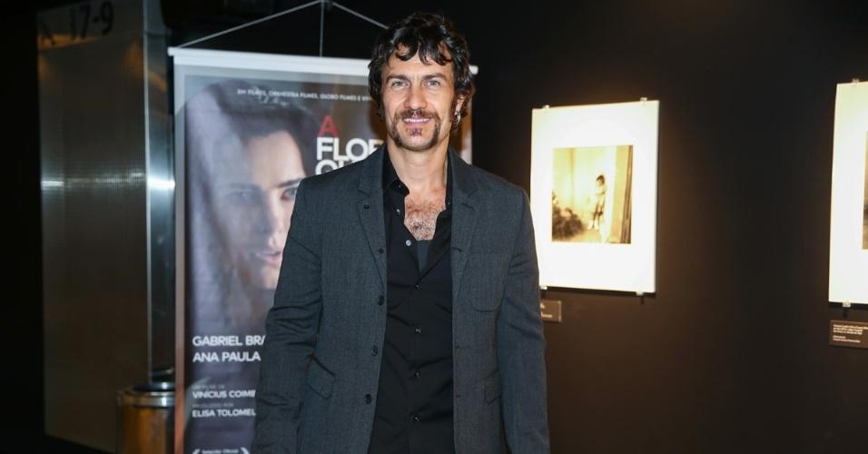 27.out.2015 - O ator Gabriel Braga Nunes, protagonista de