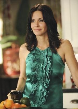 """Courtney Cox na série """"Cougar Town"""" - Divulgação/ABC"""