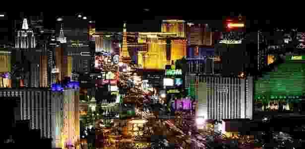 Estacionamento gratuito pode estar com os dias contados em Las Vegas - Ethan Miller/AFP - Ethan Miller/AFP