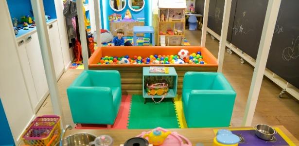 Espaço NAV, espaço voltado para atividades que estimulam a criatividade, funciona durante o mês de julho no Shopping Crystal - Divulgação