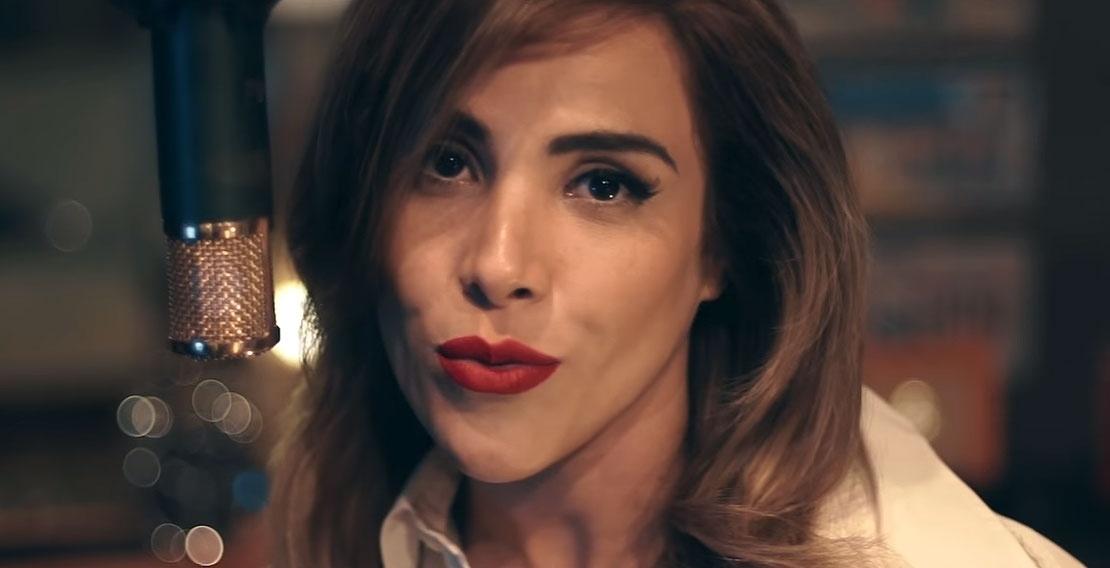 Wanessa Camargo em cena do clipe de