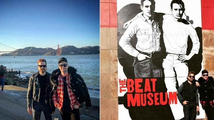 Paulo Gustavo e o marido, Thales Bretas, em São Francisco - Reprodução/Instagram/thalesbretas