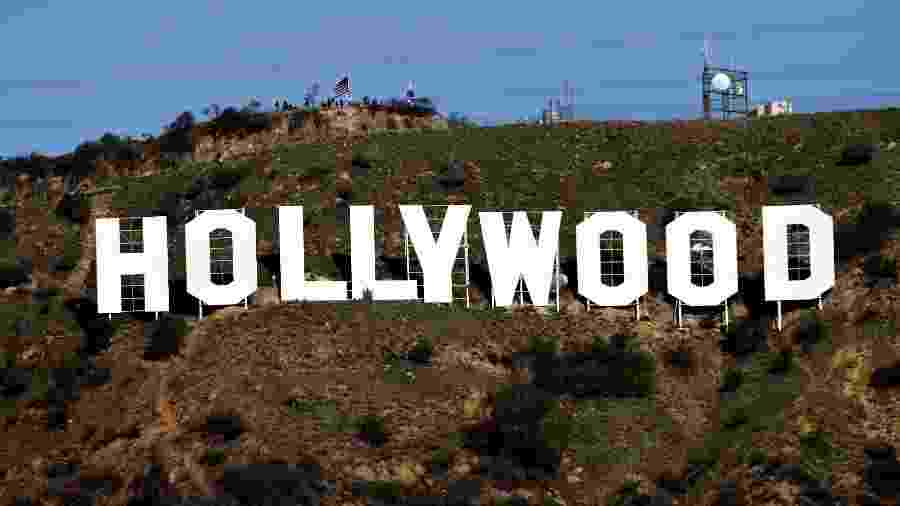 Letreiro de Hollywood - Kevork Djansezian/Reuters