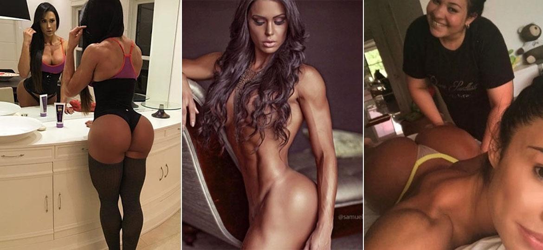 Gracyanne Barbosa adora exibir o corpão nas redes sociais - Reprodução/Instagram