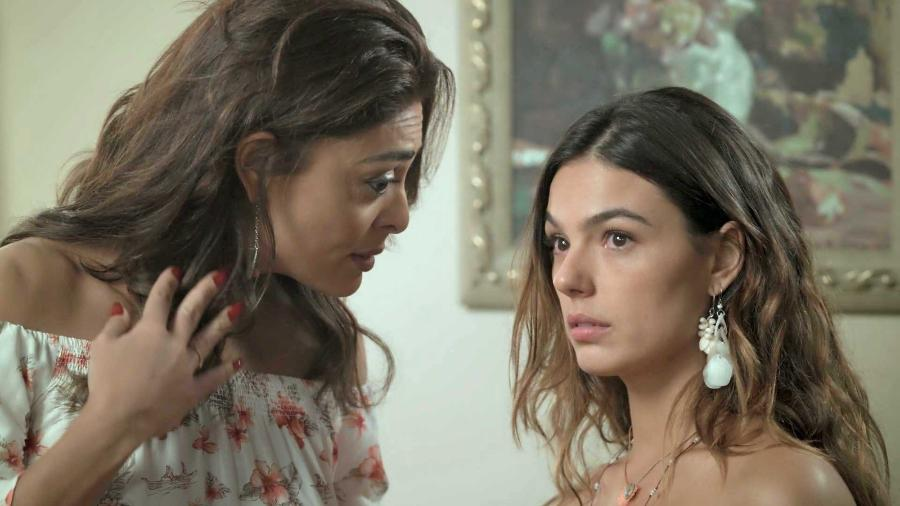 """Bibi (Juliana Paes) e Ritinha (Isis Valverde) em """"A Força do Querer"""" - Reprodução/GShow"""