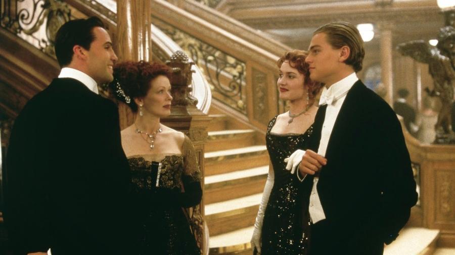 """Cena de """"Titanic"""" (1997) - Divulgação"""