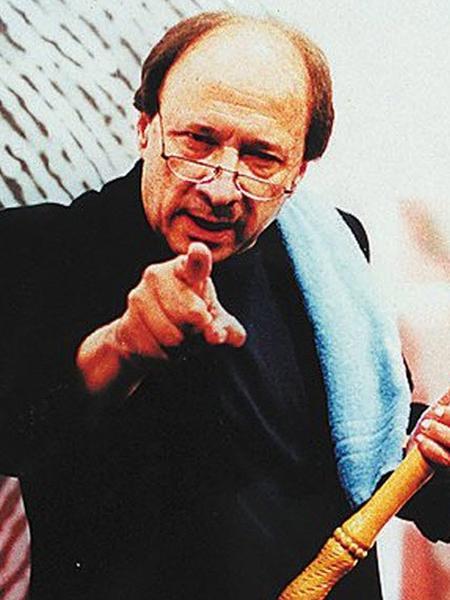 Luiz Carlos Alborghetti em seu programa na CNT Gazeta, em 1999 - Divulgação