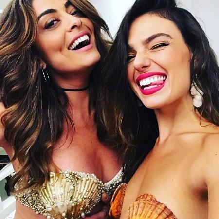 Juliana Paes e Isis Valverde - Reprodução/Instagram