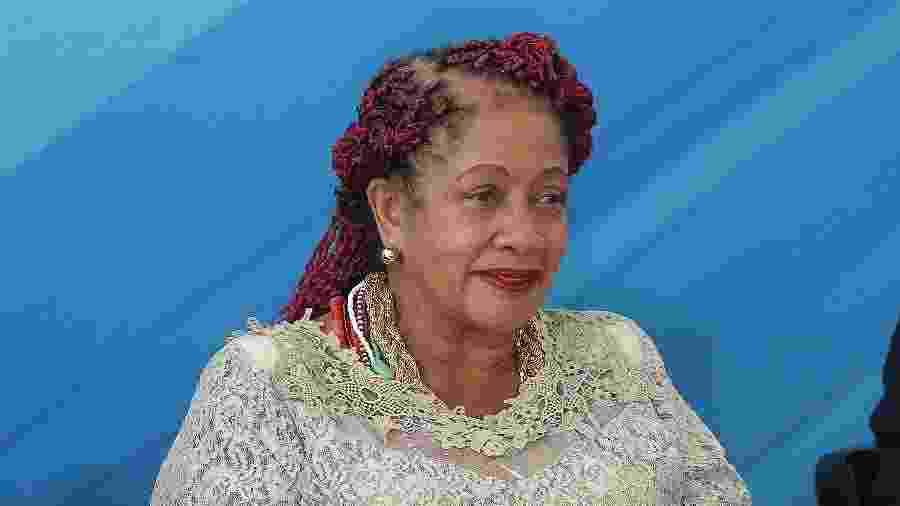Luislinda Valois, agora ex-ministra dos Direitos Humanos - Alan Marques/Folhapress