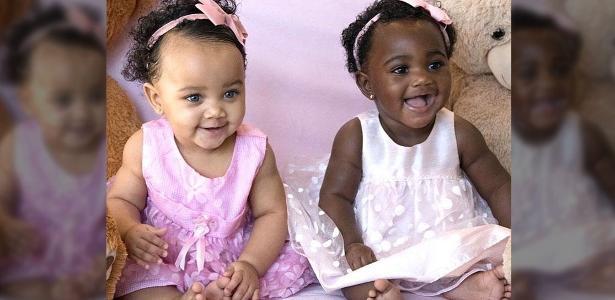 As gêmeas Isabella e Gabriella encantam pela fofura e expressividade nas fotos
