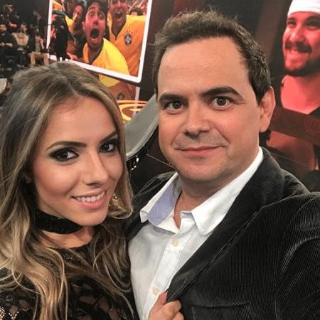 Carioca e Paola Machado - Reprodução/Instagram/cariocadelegado