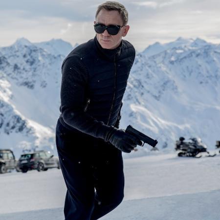 """Daniel Craig em cena de """"007 Contra Spectre"""" (2015) - Reprodução"""