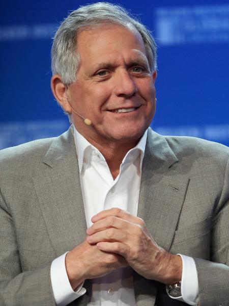 Leslie Moonves, atual chefe da emissora norte-americana CBS - Getty Images