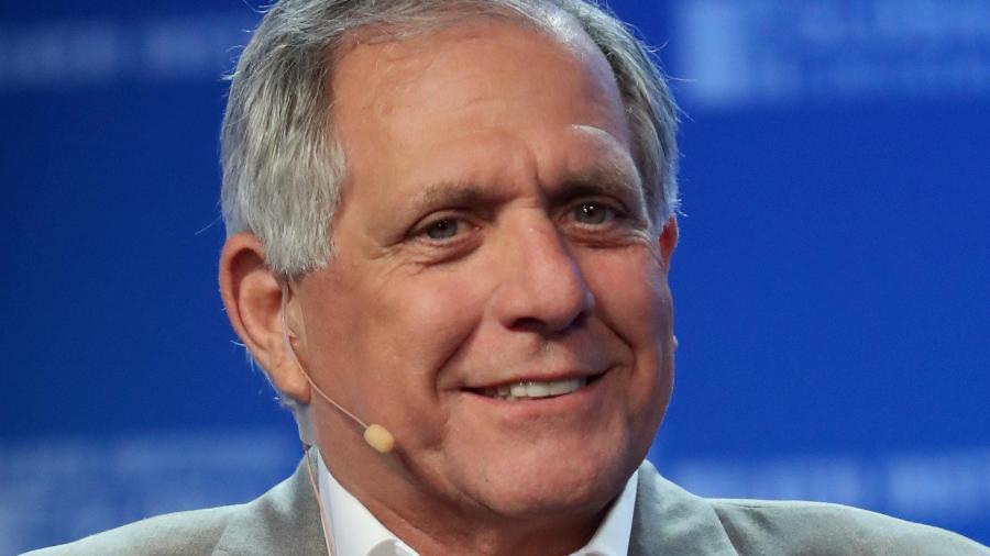 Leslie Moonves, que vai deixar o comando da emissora norte-americana CBS - Getty Images