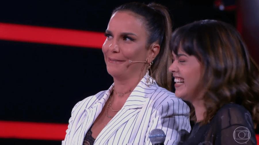 Ivete Sangalo lembra quando ganhava carne de sol como cachê em barzinhos - Reprodução/TV Globo
